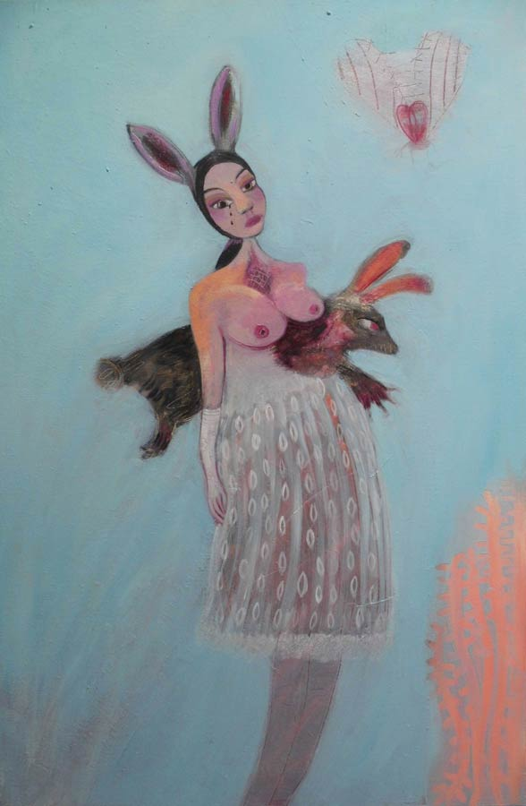 'Black Bunny' by Siobhan Purdy
