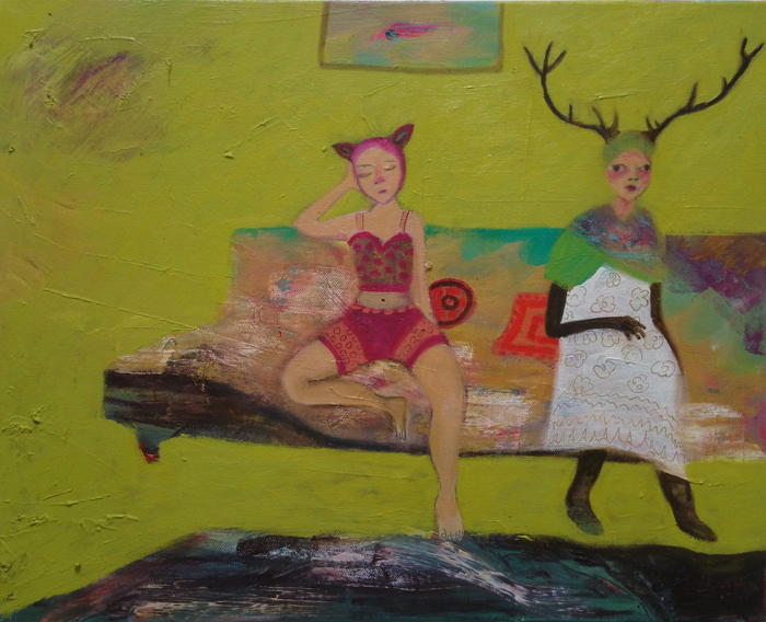 'My Deer Friend' Siobhan Purdy
