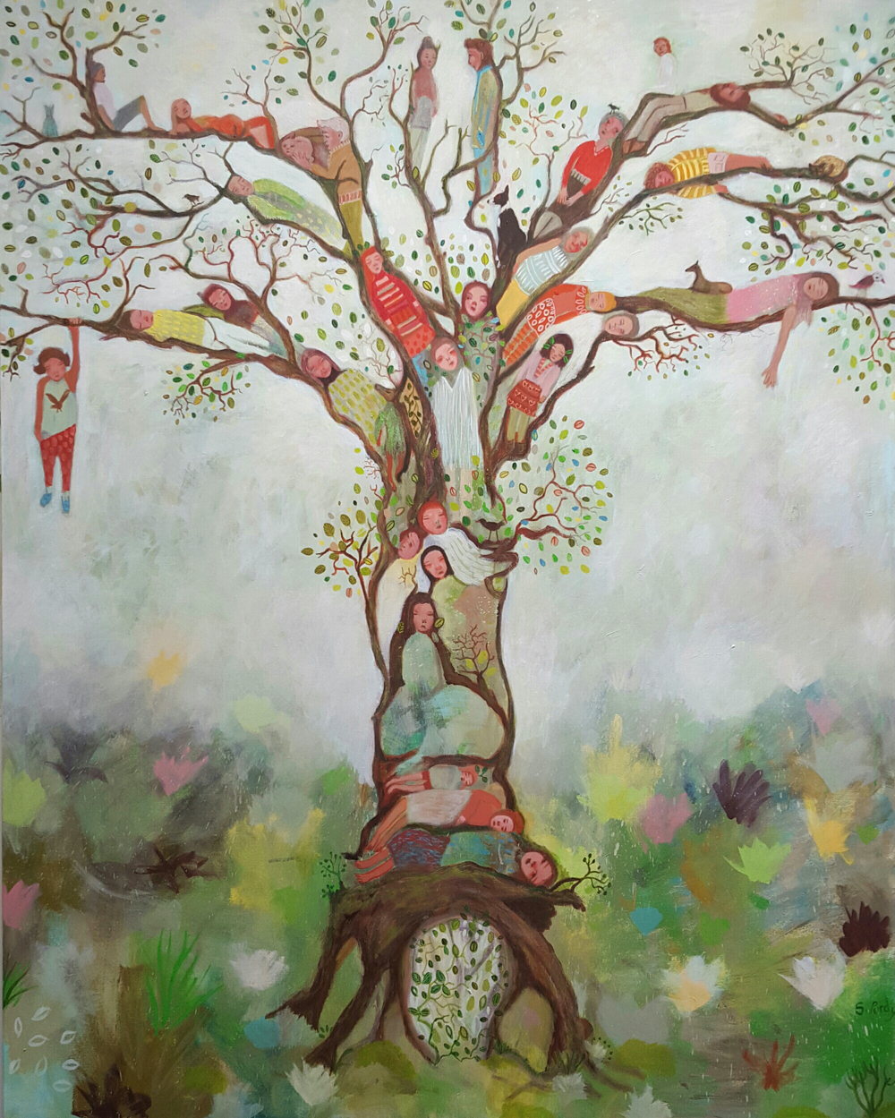 'Dreamaway Tree' by Siobhan Purdy