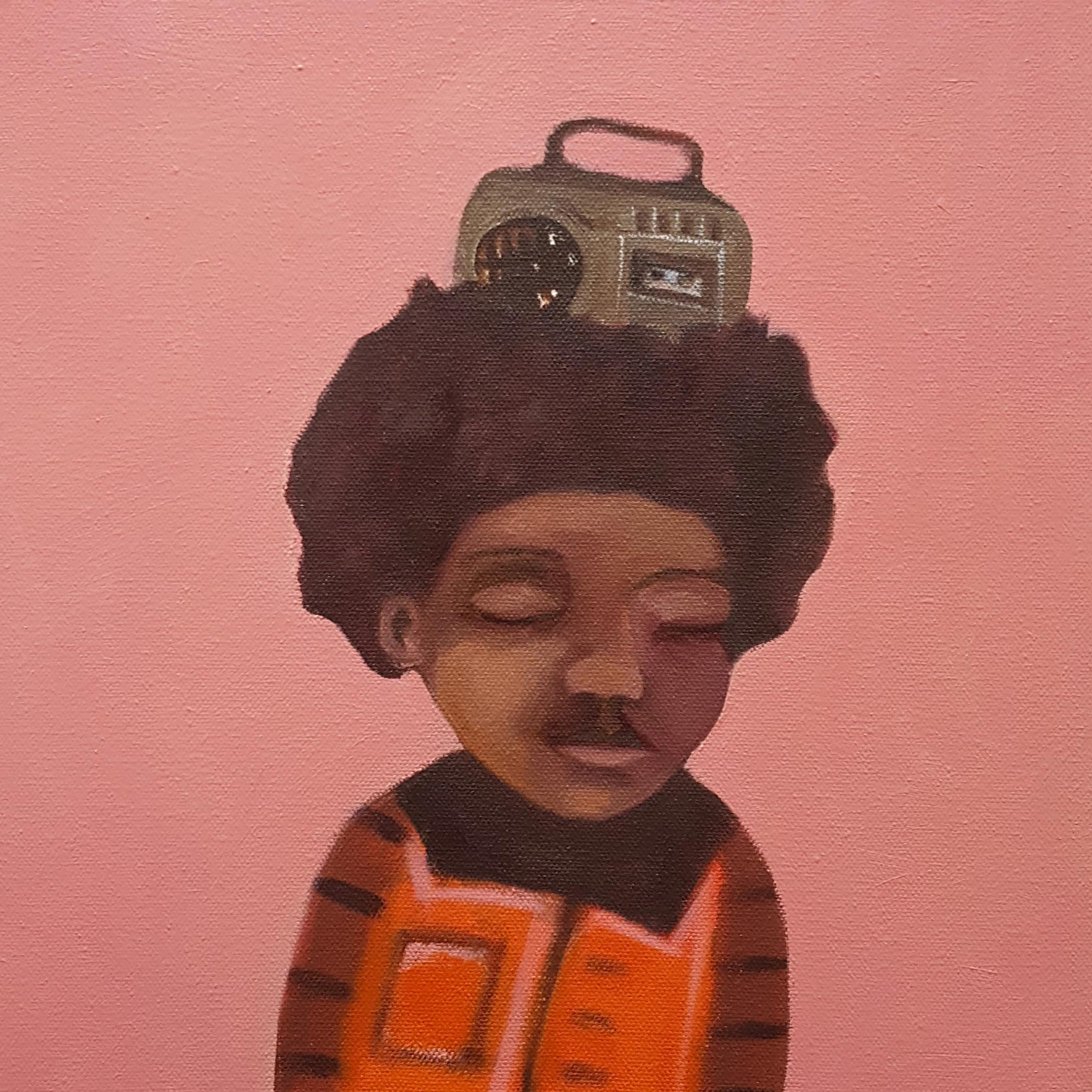 '80s Radio Head' by Siobhan Purdy