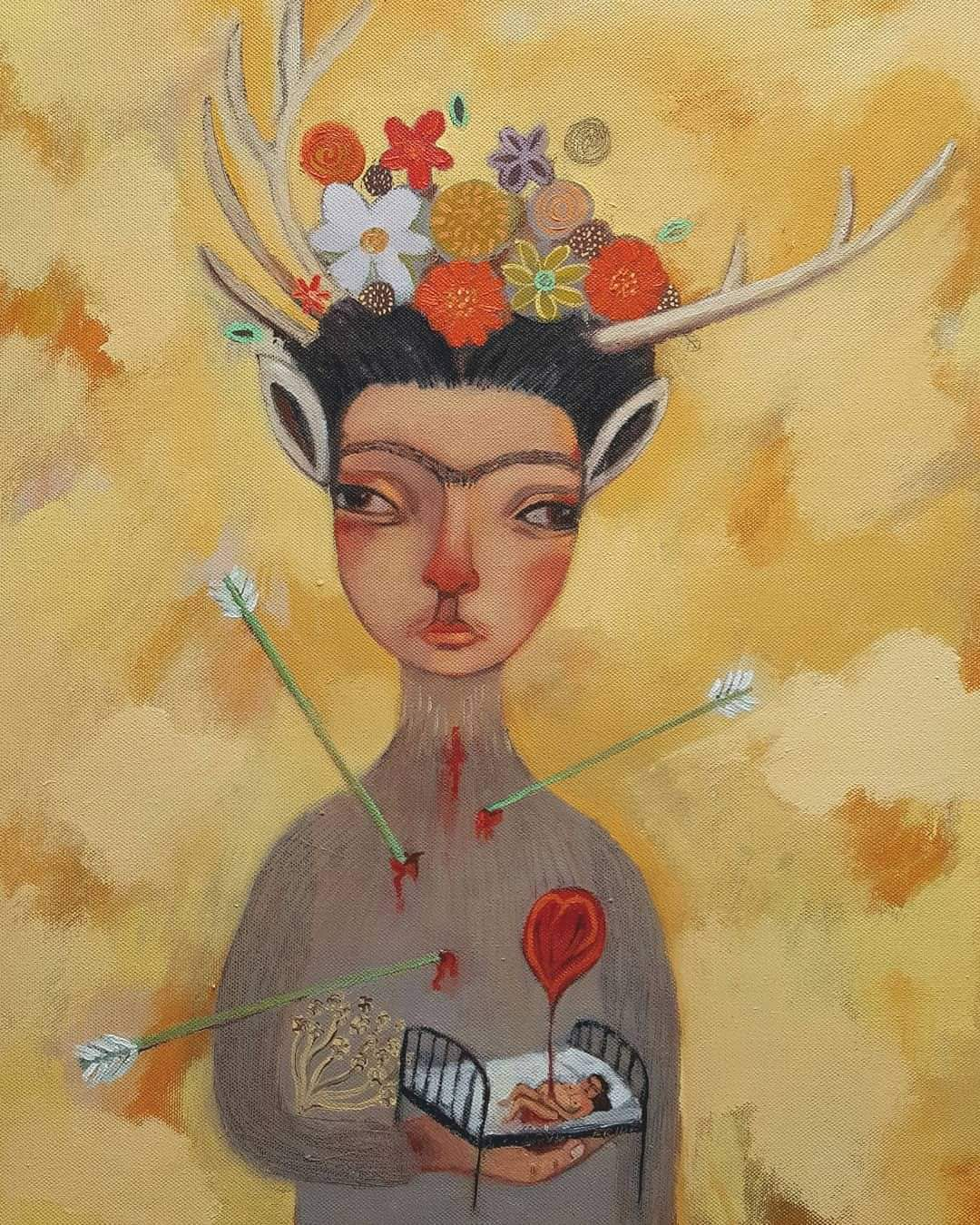 'For The Love Of Frida' by Siobhan Purdy