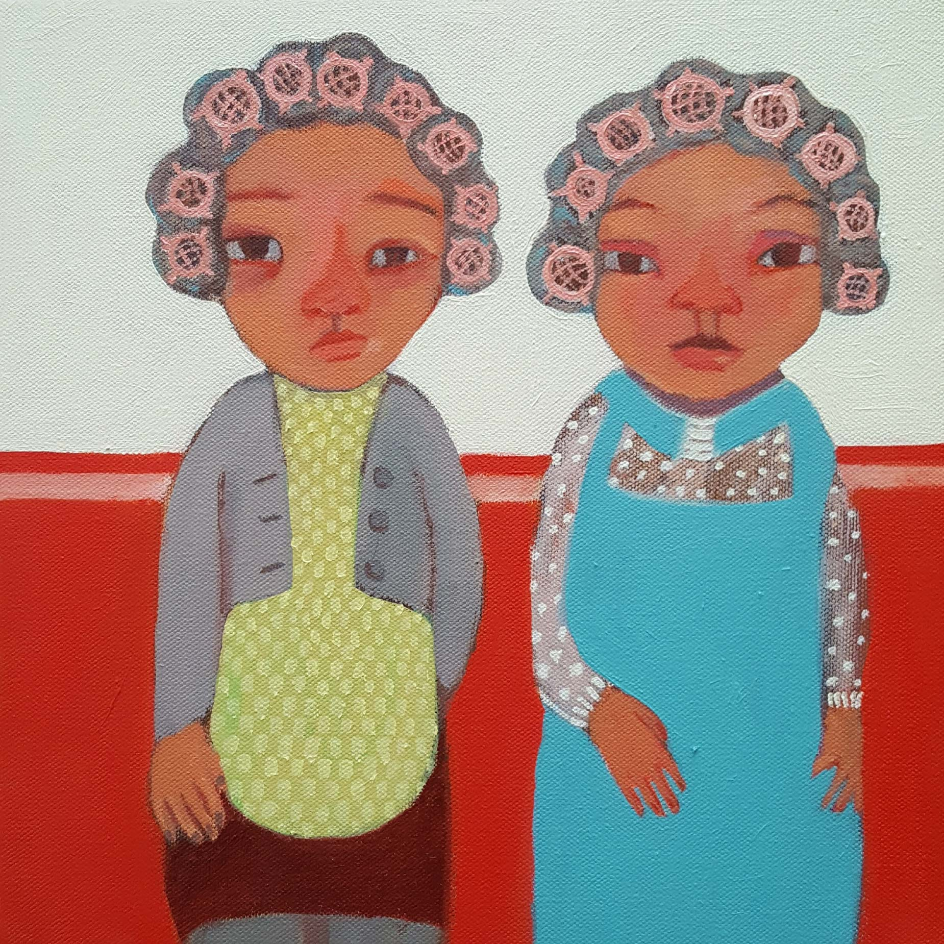 'Salon Ladies' by Siobhan Purdy