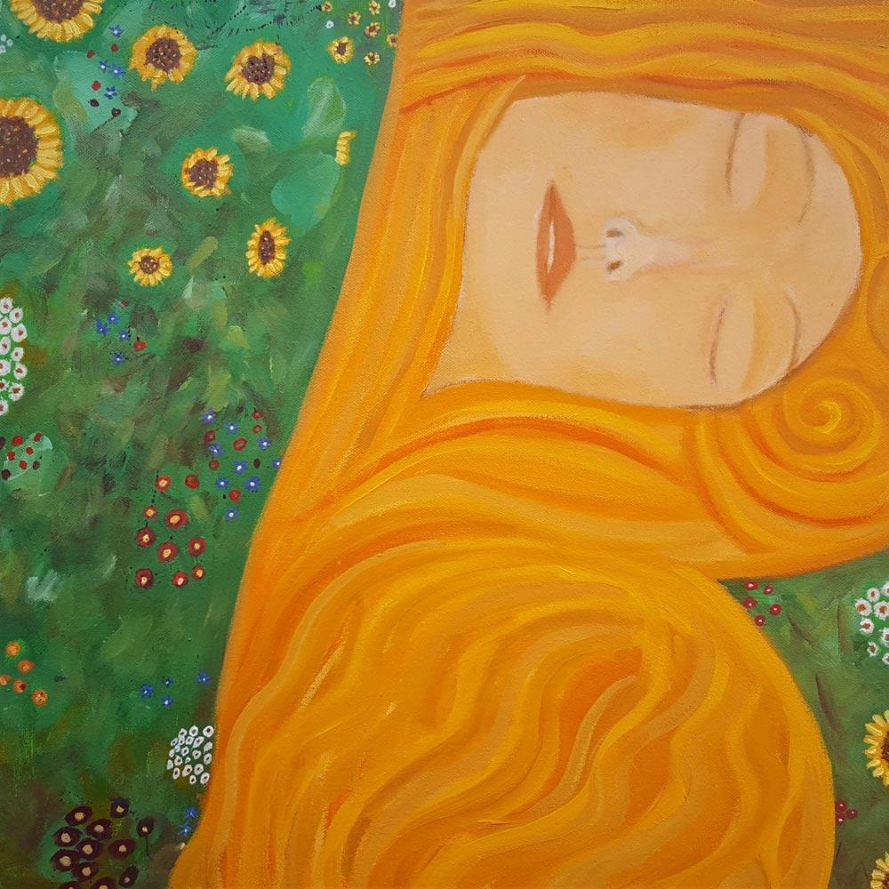 'Sunflower Dreamer' by Siobhan Purdy